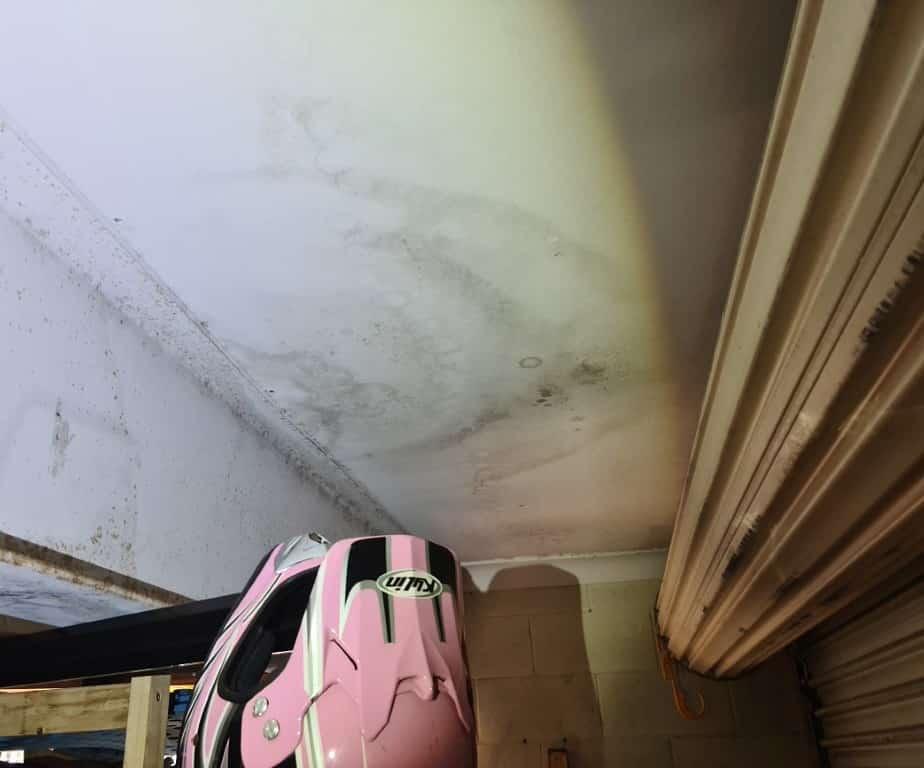 leaking ceiling (Medium)
